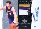 2009-10 Exquisite Auto Patches Luke Walton (33 50) 3 Color Lakers Letter