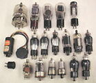 Lot of 18 Vintage Large Radio TV Electron Vacuum Tubes UNTESTED RCA Others