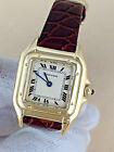 18k Gold Cartier PANTHERE Ladies Watch w/BOX & PAPERS CARTIER PANTHERE WATCH