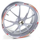 USEN Sticker wheel Rim Benelli silver Tornado 900 TRE 900TRE Red Blue strip tape