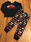 NWT GYMBOREE Boys Valentines Day Truck Loads of Love Pajamas Gymmies 18 24 Mon