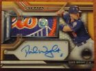 2017 Topps Strata New York Mets David Wright, Auto, Amazing Patch, SP (05 25)