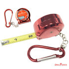 6FT By 1 8 Inch Retractable Ruler Imperial Reel Portable Mini Chain Measure Tape
