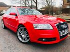LARGER PHOTOS: Audi A6 2.7 Diesel Le Mans Edition Quattro Auto in very rare red low miles
