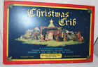 CONCORDIA CHRISTMAS NATIVITY SET DIE CUT LITHO STANDEE FIGURES OB 1950