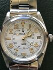 VINTAGE TUDOR 9050/0 CALIFORNIA DIAL With Rolex Band 35mm! POLISHED SERVICED!!