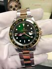 Rolex GMT MASTER II Gold & Stainless Steel 2 tones Green Hulk Dial MINT