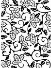 DARICE Craft 4 x 6 A2 Size Embossing Folder Tool HOLLY VINES Christmas