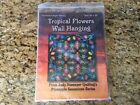 Judy Niemeyers Tropical Flowers Foundation Paper Piecing Pattern 58 x 58