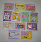 Lot of 12 Unique Different Handmade Easter Cards Stampin Up and Others Free Ship