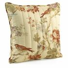 Charleston Chirp Quilted 20 in. Square Pillow, Yellow
