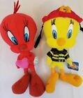 Looney Toones Lot of 2 Twitty Bird Fire Fighter and Valentine Heart Twitty