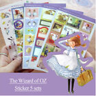 HOT The Wizard Of OZ Sticker Scrapbooking Diary Planner Deco DIY Card Making Tag