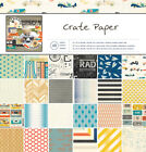 CRATE PAPER BOYS RULE 12 x 12 PAPER PAD Save 55