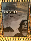 Lavventura 2 Disc DVD 2001Criterion Collection 98Includes BookletOOP Edit