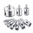 JelBo Diamond Drill Bit Set,Glass and Tile Cutting Tools Core Saw Bits for Round