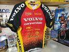 Libor Karas Vintage Volvo Cannondale Cycling Jersey Short Sleeve Medium