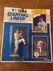 Roger Clemens Starting Lineup SLU 1990 Rookie Baseball Action Figure Red Sox