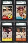 1963 TOPPS #360 DON DRYSDALE TOUGH DEAD CENTERED SGC 88 **PSA 8 **SET BREAK**