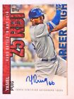2015 Topps Yasiel Puig Autograph Los Angeles Dodgers #CH-YP