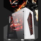 ATX Mid Tower Computer Gaming PC Case 8 Fan Ports Fan Speed Control USB 30