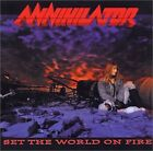 ANNIHILATOR Set The World On Fire RRCY-23047 CD JAPAN 2002 NEW