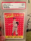 1958 Topps Mickey Mantle All Star PSA 7