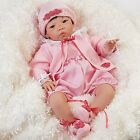 Realistic Lifelike Asian Baby Doll Reborn Newborn Girl 21 In Weighted Infant New