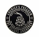 2nd Amendment The Right to Bear Arms Gadsden Tea Party Lapel Hat Pin PPM6049