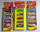 Pre owned Lot of 3 Matchbox 5 Pack Fire Hot Rods City Streets