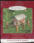 2000 Hallmark Bait Shop With Boat Town and Country Series Ornament Dated NIB NEW