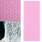 Silicone Lace Fondant Embossed Mold Sugarcraft Cake Decorating Mould Tool SYLD