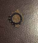 VINTAGE DAUGHTERS OF THE AMERICAN REVOLUTION DAR PIN GOLD FILLED