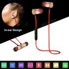 Wireless Bluetooth Magnetic Stereo In-Ear Headhones Headsets for iPhone Samsung