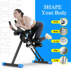 AB Abdominal Cruncher Glider Fitness Machine Exercise Gym Trainer Roller Muscle