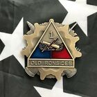 1st Armored Division Old Ironsides USArmy Artillery 3D Challenge Coin