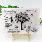 Transparent Tree Stamps Thanksgiving Rubber Stamp Clear Nature Silicone Stamps