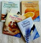 Weight Watchers Momentum journal fast fixes complete food dining out companions