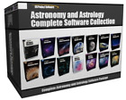 Collection Astronomy Astrology Complete Stargazing Telescope Software