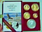 1995 W US Mint 10th Anniversary Gold and Silver Eagle Proof Set