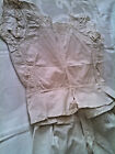 Antique Pantaloons and Linen Corset Cover