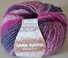 Wool Blend Knitting Yarn Preshrunk Lana Gatto Art. Bright Made In Italy