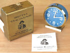 Vintage Seth Thomas Alarm Clock Dorado Keywound Blue Dial Luminous No 177 RARE R