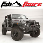 Fab Fours Base Pre Runner Lifestyle Front Winch Bumper 2007-2018 Jeep Wrangler