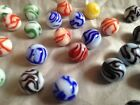 Vintage Lot 53 Alley Agate Flame Marbles