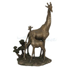 Giraffe And Calf Figure Statue Sculpture GIFT BOXED ANIMAL LOVER GIFT