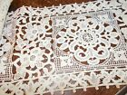 60 inches vintage lace trimming edging 5-3/4 inch wide great for crafts clothing