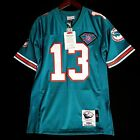 100% Authentic Dan Marino Dolphins Mitchell Ness NFL Jersey Size Mens 48 XL
