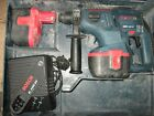 BOSCH GBH 24V SDS DRILL AND 2 BATTERY