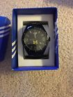 NEW Adidas University of Michigan Watch Mens black New in box with tags